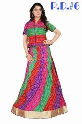 Party Wear Designer Bhagalpuri Silk Gown
