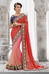 Ethnic Saree with Work