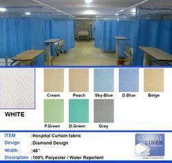 Hospital Curtain Fabric Diamond Design