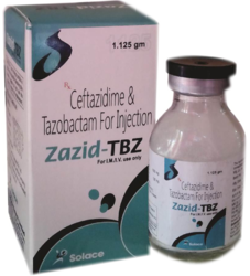 Ceftazidime with Tazobactam 1125 mg