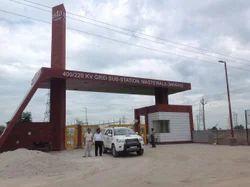 PSTCL Main Gate Construction
