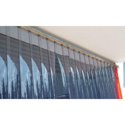 Flexible Transparent PVC Curtain