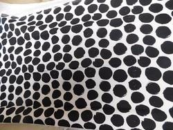 Custom Printed Dot Design Canvas Fabrics
