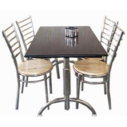 Dining S.S Stand Table
