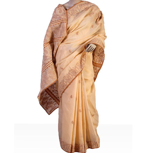 Heavy Dense Embroidery Saree