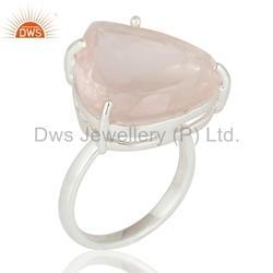 Heart Design Gemstone Ring