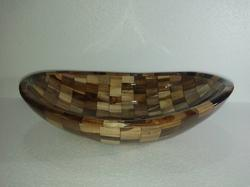 21x15 Wooden Ship Wash Basin