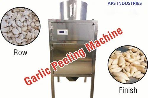 Dry Garlic Peelar Machine