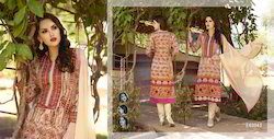 Four Length Fancy Salwar Suit