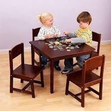 Kids Metal Table Chairs