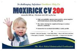 Moxirick Cv 200 Antimicrobial Drugs