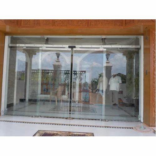 Glass Door Automatic Sliding Glass Door Manufacturer From Ahmedabad