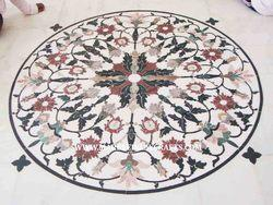 Inlay Marble Flooring Designs