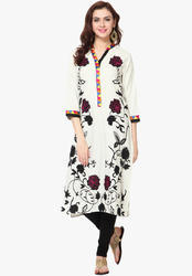Jaipuri Cotton Printed Kurtis