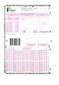 Folded OMR Sheet
