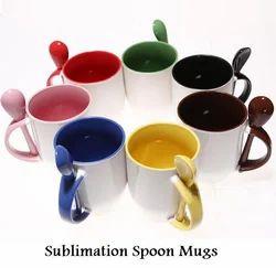 Sublimation Spoon Mugs