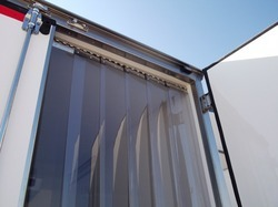 PVC Curtain For Refrigerated Trucks