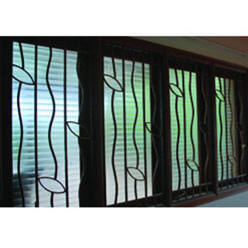Kerala house window grill design home design and style for Window design grill