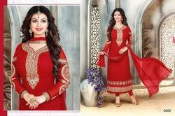 Straight Anarkali Suit