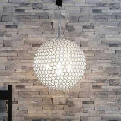 Gold Crystal Ball Pendant Lamp