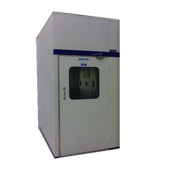 Paint Booth Air Shower Entry System