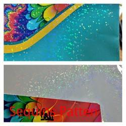 Holographic Film Clear For Printed Surface