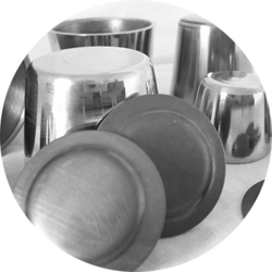 Zirconium Crucible (60 Ml)