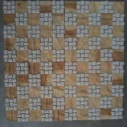 Yellow Mint Mosaic Tile
