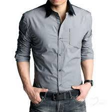 Fancy Shirts - Men Grey Shirt Manufacturer from Kolkata