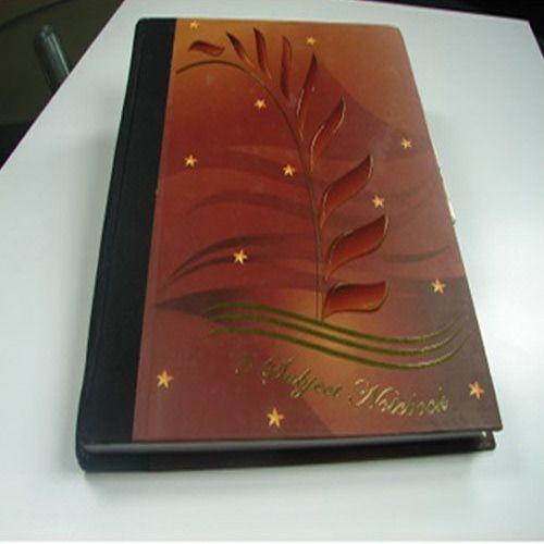 5 Subject Notebook Hard Bond
