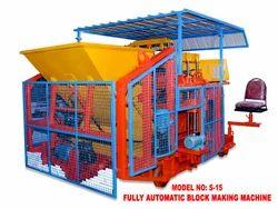 Automatic- 22 Block Concrete Block Machine