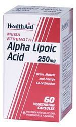 Alpha Lipoic Acid 250mg - 60 Capsules