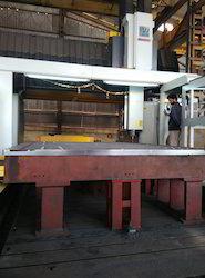 Double Column CNC Machine Job Work