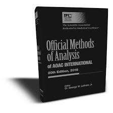 Official Methods Of Analysis Of Aoac International, 20th Ed