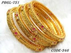 Fancy New Designer Polki Bangles