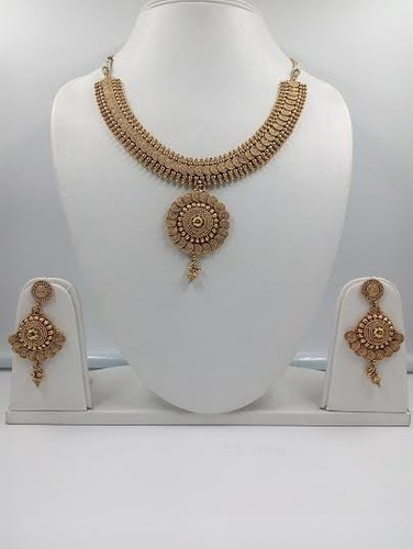 Antique Pearl Necklace Set & Antique Jewellery - Antique Pearl Necklace Set Manufacturer from New ...