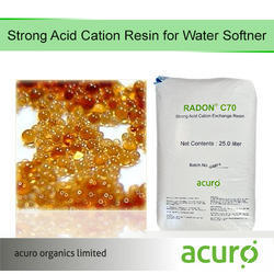 Strong Acid Cation Resin for Water Softener