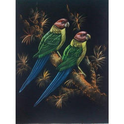 Painting of Parrots