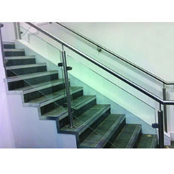 SS Glass Stair