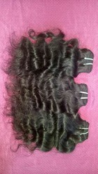 Indian temple raw weft hair for sales