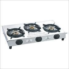 Gas Stove Steel 3 Burner