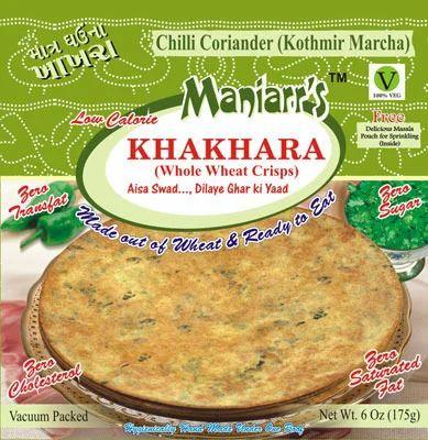 Khakhras Chilli Coriander