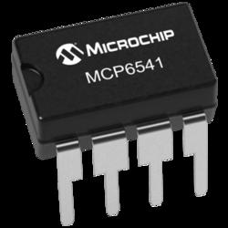 MCP6541-I/P Comparator