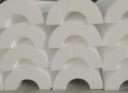 Pipe Sections For Hot And Cold Insulation