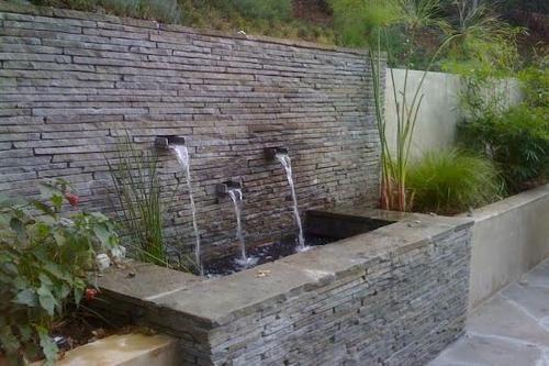 Ordinaire Garden Wall Cascade Fountain