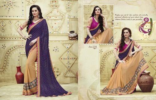 Designer Fancy Bandhani Saree