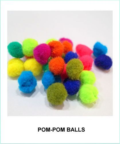 Mini Yarn Pom Pom Balls