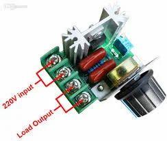 220V 2000W Speed Controller SCR Voltage Regulator Dimmers