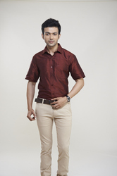 Maroon Party Wear Shirts
