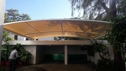 Garage Tensile Structure